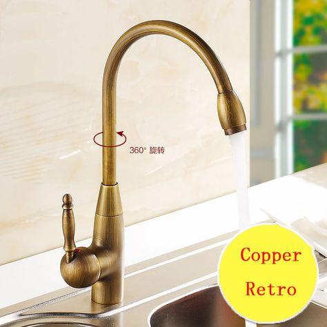 Faucet Vintage Antique 360 Degree