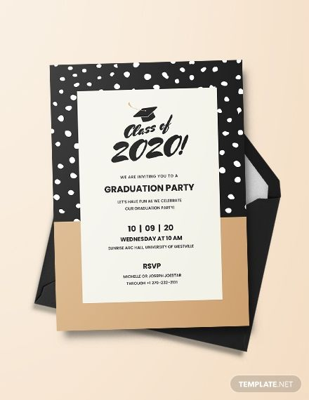 Free Graduation Invitation Template Pdf Word Psd Apple Pages Illustrator Publisher Graduation Invitations Template Graduation Invitations Invitations