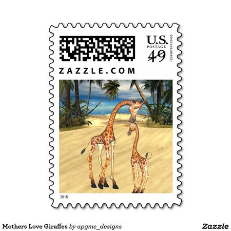 Giraffe Stamp Used rubber stamp View All Photos