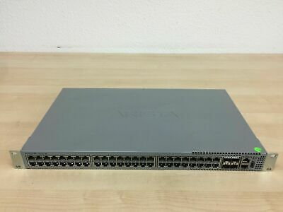 Ebay Link Ad Arista Dcs 7010t 48 48 Port Gigabit 4 10gbe Sfp Managed L3 Switch In 2020 Gigabit Switch Port Switch