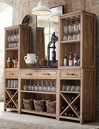 Dining Room Furniture Pottery Barn Diy Home Bar Home Bar Furniture Bar Furniture