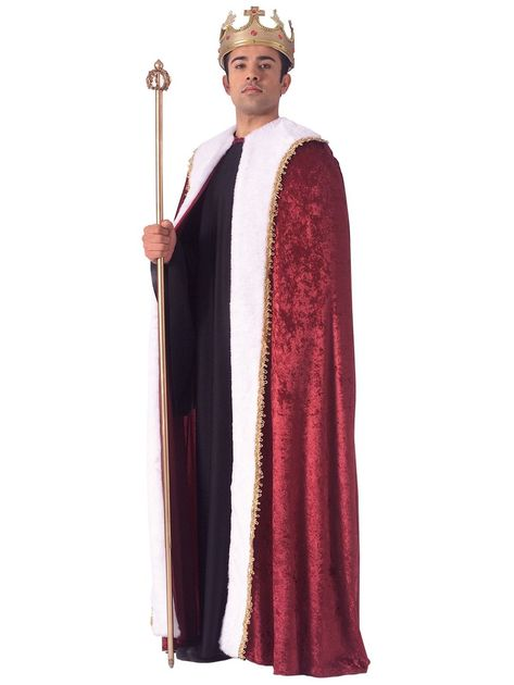 Check out King Robe Adult Costume - 2018 Mens Costumes | Costume SuperCenter from Costume Super Center