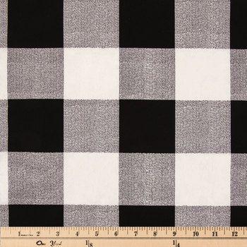 Buffalo Check Duck Cloth Fabric