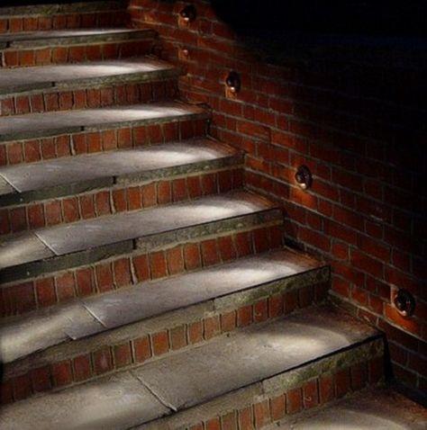 27 Attractive Outdoor Steps Lighting Designs Outdoor Stair Lighting Garden Lighting Design Outdoor Steps