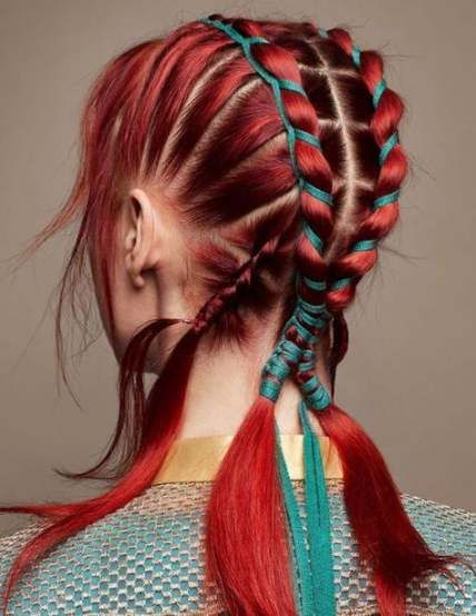 Hair Rainbow Natural 70+ Trendy Ideas