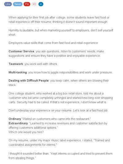 17 Best images about Job Search Skills on Pinterest Muse, Resume - how to build up your resume