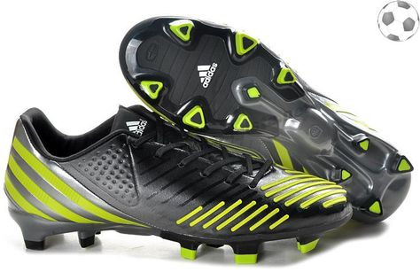 adidas predator lz TRX FG Noir Vert FT4923 | 2014 Magista Chaussures |  Pinterest | Adidas predator