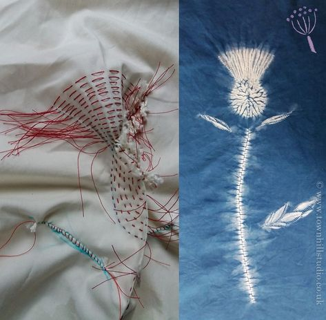 The inside story on a summer shibori weekend workshop
