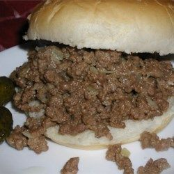 Messy Burgers Recipe Recipes Ground Beef Recipes Food