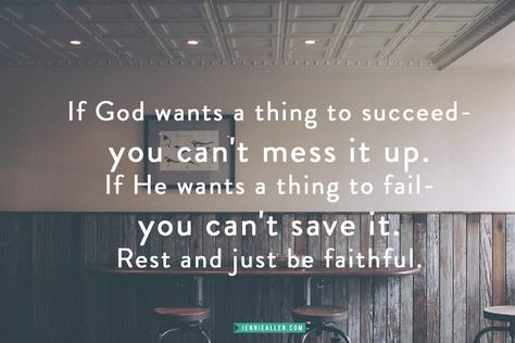 God's plans cannot be thwarted. What are you trusting God with? www.jennieallen.com