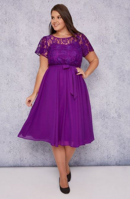 25++ Plus size purple dress ideas info