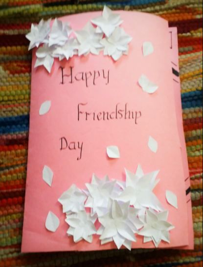 Handmade Friendship Day Cards With Images Happy Friendship Day