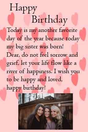Dear Sister Birthday Letter For Sister.Birthday Cards For Sister Sister Birthday Quotes Cool