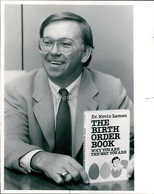 Ebay Ad Url 1985 Dr Kevin Leman Author Birth Order Book Why You Are Way Vintage Photo 8x10 In 2020 Birth Order Book Birth Order Order Book