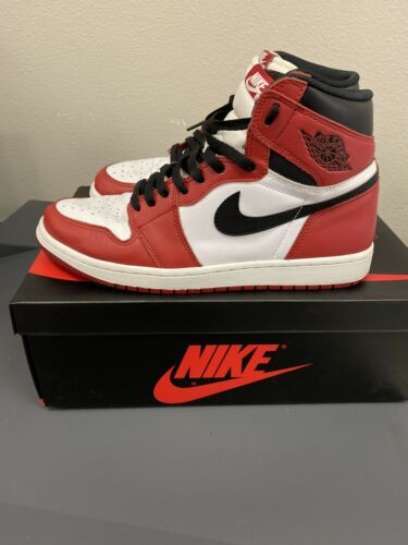 Nike Air Jordan 1 Retro High OG 2015 Chicago Size 10 Bred ...