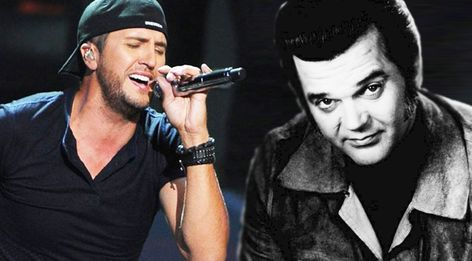 Country superstar Luke Bryan gives country legendConway Twitty's Lay You Down a modern booty shakin' twist live in Nashville back in 2007. Luke was only 4 years old when the chart-topping hit first made its debut and now he is performing in front ofthousands decades later. The country star re
