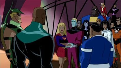 Image result for animate Legion of superheroes justice league unlimited