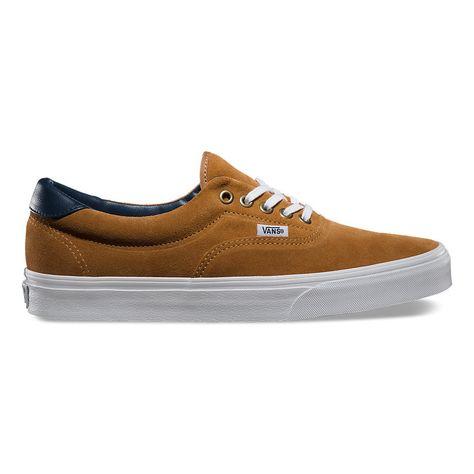 ab6b082919c0f8 Vans Era 59 Suede Leather shoes brown sugar