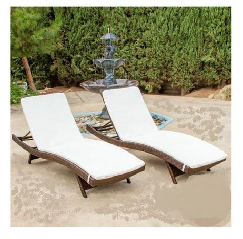 Marvelous Patio Furniture Outdoor Home Garden Wicker Lounge Pool Ncnpc Chair Design For Home Ncnpcorg
