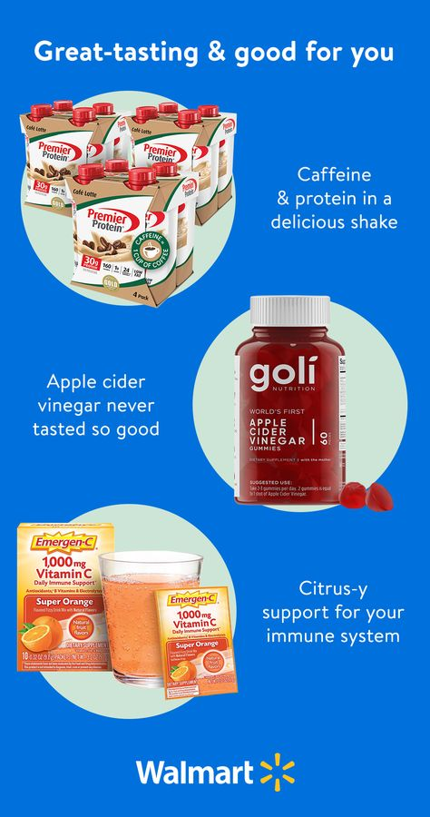Find vitamins, supplements, & superfoods for less at Walmart