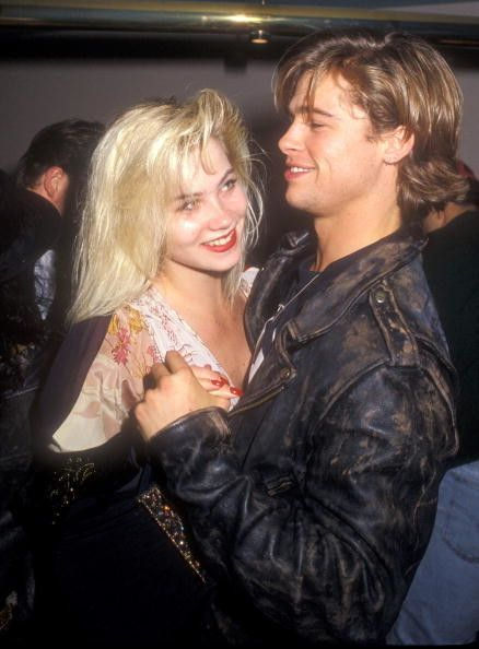 You have to go all the way back to 1989 to get to the time that Christina Applegate was sweet on Brad Pitt, before supposedly ditching him for another dude at the MTV Music Video Awards that year.