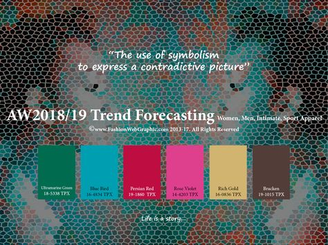 Site is full of eye candy colors. Autumn Winter trend forecasting is A TREND/COLOR Guide that offer seasonal inspiration & key color direction for Women/Men's Fashon, Sport & Intimate Apparel