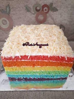 Resep Rainbow Cake Ny Liem Oleh Resi Anggraeni Resep Kue Kue Ulang Tahun Aneka Kue