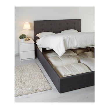 Fabulous Gvarv Ottoman Bed Skiftebo Dark Grey Ikea In 2019 Ottoman Creativecarmelina Interior Chair Design Creativecarmelinacom