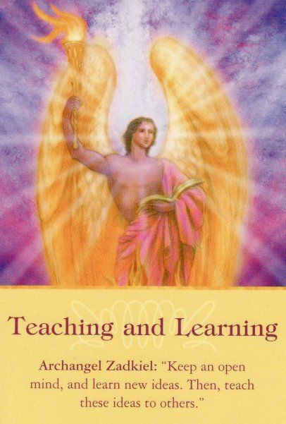 Resultado de imagem para archangel oracle cards  Zadkiel