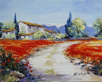 Peintures Zubrycki Galerie Zubrycki Artiste Peintre