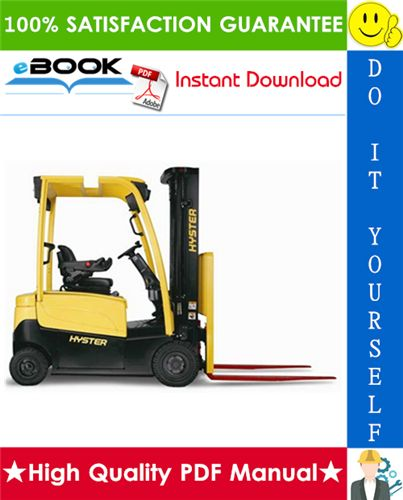 Hyster J30xnt J35xnt J40xnt K160 3 Wheel Electric Forklift Trucks Service Repair Manual Repair Manuals Forklift Repair