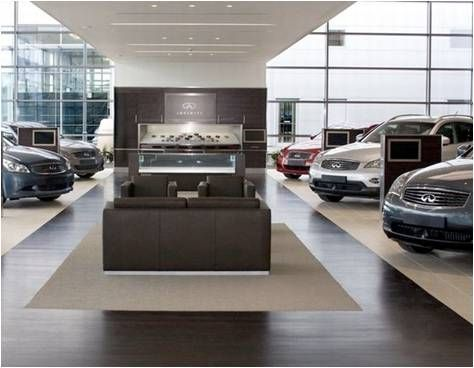Car Showroom Interiors Design