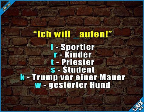 Ich mag unsere Sprache :) #Wortspiel #Wortspiele #lustigeSprüche #Humor #lachen #Memes
