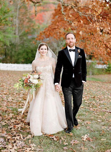 An Elegant, Autumnal Wedding in Tennessee