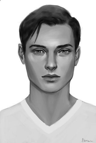 Discover The Secrets Of Drawing Realistic Pencil Portraits Image Result For Semirealistic Pencil Portrait Mal Male Face Drawing Portrait Drawing People Faces