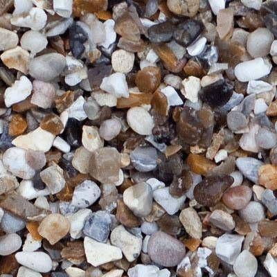 Shingle Beach 10mm Chippings Garden Stones Beach Decorative Aggregates