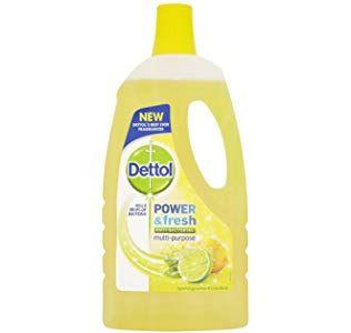 Dettol Floor Cleaner 1 L Lemon Multipurpose Cleaner Floor Cleaner Detergent Brands