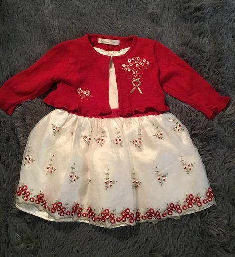 American Princess Dress & Sweater. 18 Mo