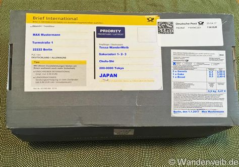Post Nach Japan Verschicken Deutsche Post Japan Deutschland