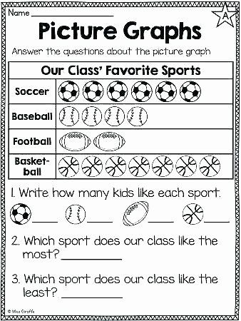 2nd Grade Pictograph Worksheets Picture Graph Worksheets 2nd Grade In 2020 First Grade Math Worksheets Graphing First Grade First Grade Math