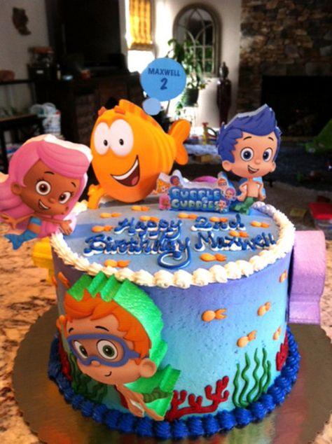 Brilliant Bubble Guppies Birthday Cake Topper In 2020 Bubble Guppies Personalised Birthday Cards Veneteletsinfo