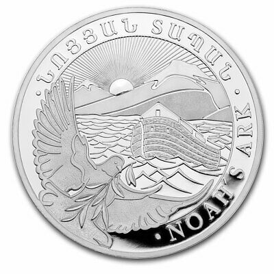 Find Many Great New Used Options And Get The Best Deals For 2020 Armenia 1 Oz Silver 500 Drams Noah S Ark Bu Sku 195923 At The Best Online Prices At Ebay F In 2020