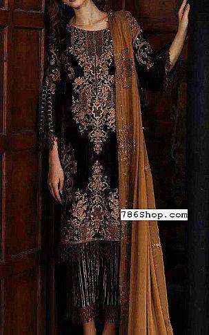 Dark Brown Velvet Suit Buy Charizma Pakistani Dresses And Clothing Online In Usa Uk Designer Winter Dresses Dresses Fashion