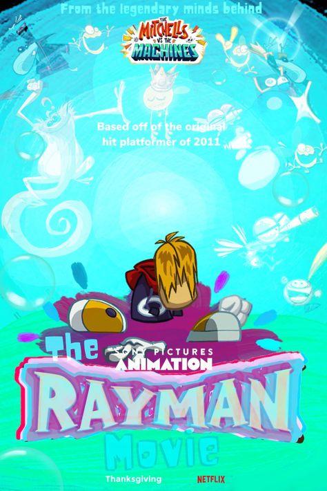 Rayman Movie Poster 2021
