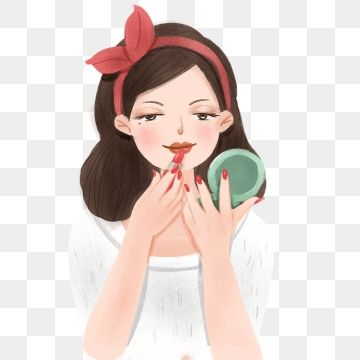 A Pretty Woman In Makeup Pretty Woman In Makeup Pretty Woman Make Up Beauty Beautiful Woman Character Png Transparent Clipart Image And Psd File For Free Dow Wanita Png