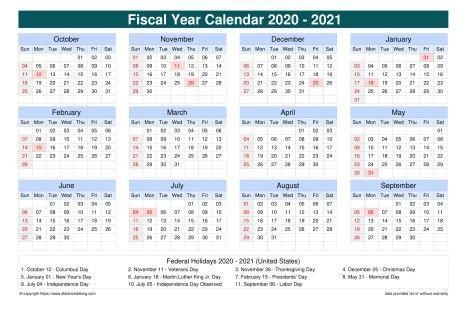 March Calendar 2021 United States Di 2020