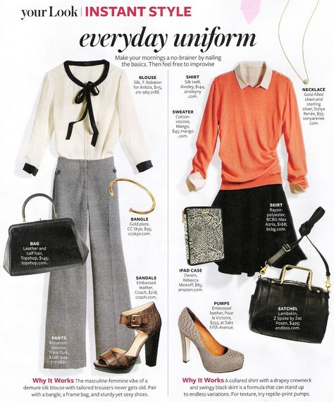 From InStyle Magazine