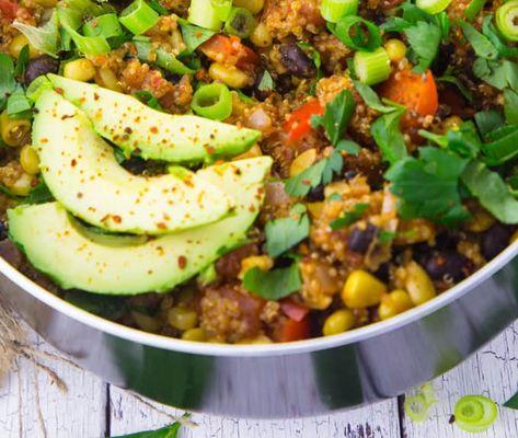 Serpenyős quinoa mexikói módra   21 nap alatt