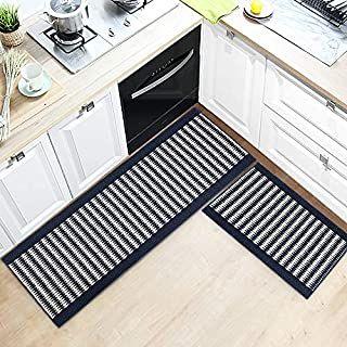 Kitchen Design Ideas Kitchen Rugs Set 2 Pieces Non Slip Washable Kitchen Rug Home Decor Ideas In 2021 Kitchen Mat Kitchen Rugs Washable Kitchen Rugs And Mats