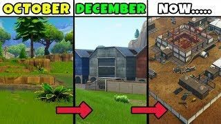 Old Fortnite Map Vs New Fortnite Map Fortnite Battle Royale Map